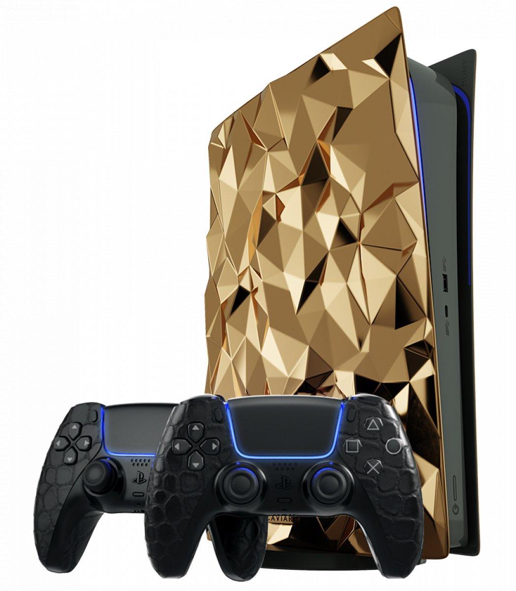 Altın kaplama PlayStation 5 in fiyatı belli oldu #5