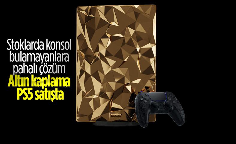 Altın kaplama PlayStation 5'in fiyatı belli oldu