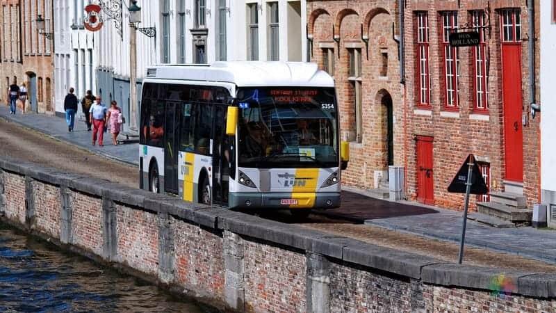 Brugge'de nerede kalınır şehir içi ulaşım araçları