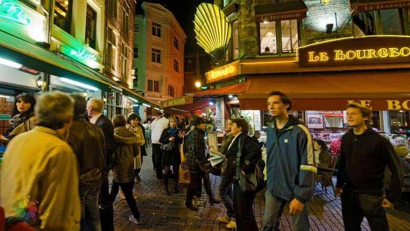 Brüksel'de yapılacak şeyler gece hayatı