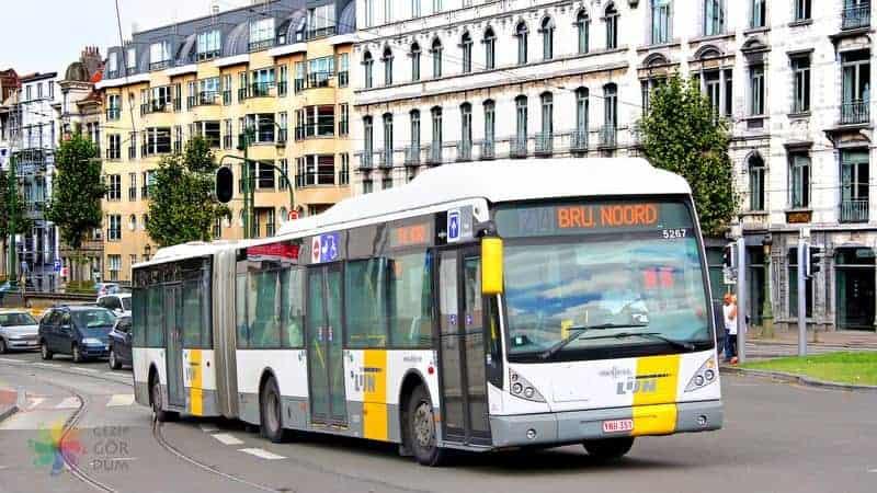 Brüksel şehir merkezi havaalanı transfer havaalanı otobüsü