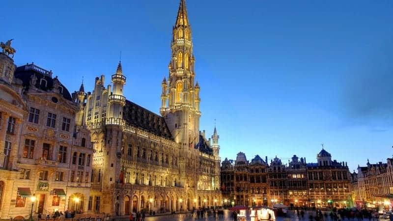Brüksel Grand Place Hotel de Ville