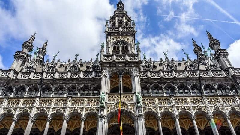 Grand Place Maison du Roi Brüksel