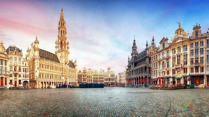 Brüksel'in Kalbi Grand Place Meydanı (Grote Markt)