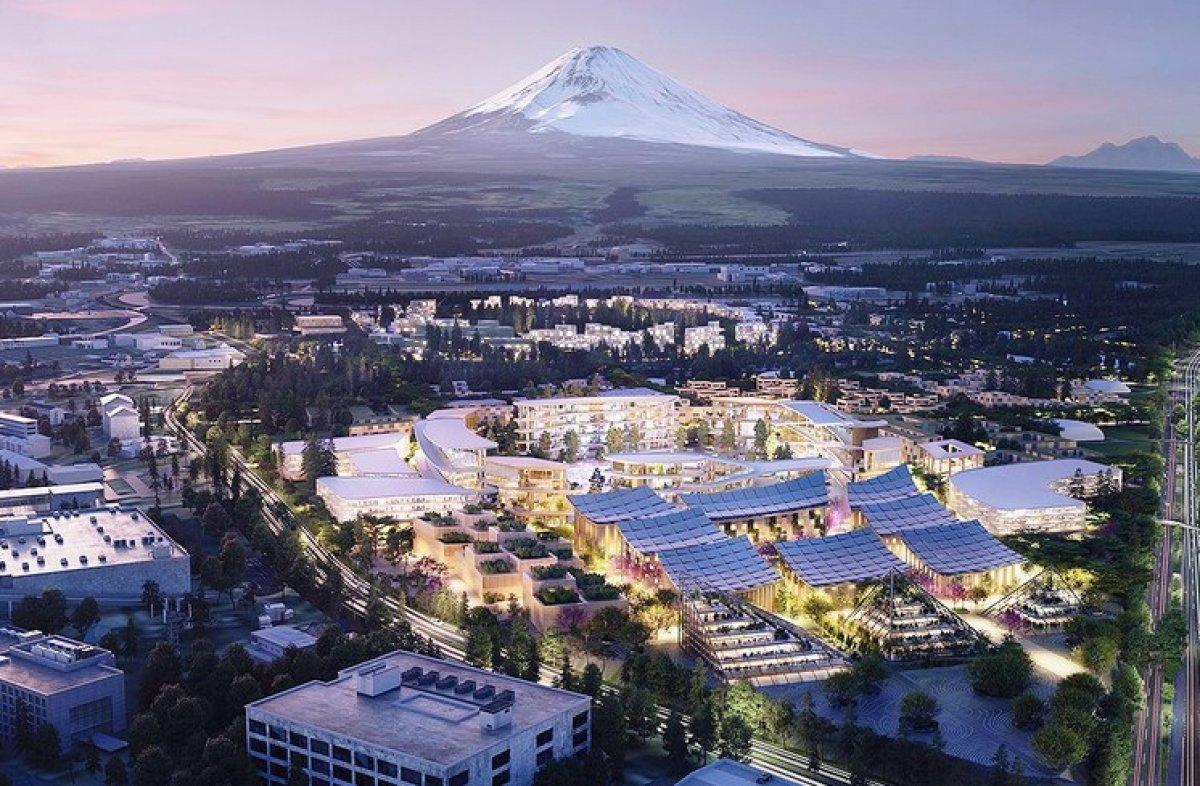 Toyota dan teknoloji bazlı şehir: Woven City #3
